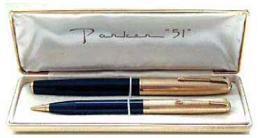 Parker 51 in gift box.