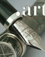 Luxury pens and watches magazine.