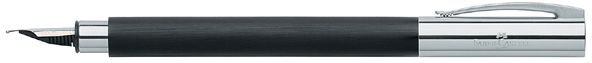Black Faber-Castell Ambition fountain pen.