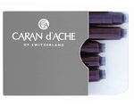 Caran d'Ache ink cartridges.