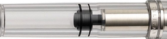 Clear demonstrator pen.