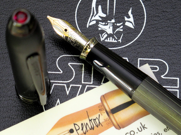 Cross Townsend Darth Vader Star Wars fountain pen.