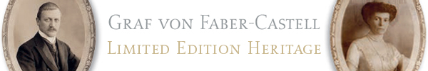 Limited edition Graf von Faber Castell Heritage pens.