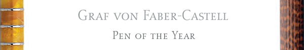 Graf von Faber Castell Pen Of The Year pens