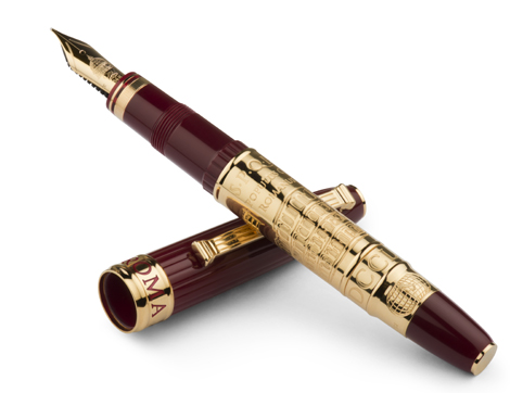 The limited edition Roma from Omas pens.