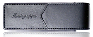 Leather Montegrappa case.