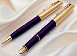 Parker Sonnet Accession ball point and fountain pen.