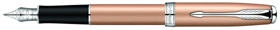 Pink Gold Sonnet fountain pen.