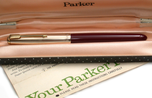 Dating a parker 51 pen