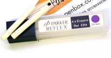 Replacement ER4 erasers from Parker for Reflex pencils.