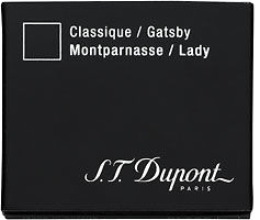 S T Dupont cartridges for Montparnasse, Gatsby, Classique and Lady fountain pens.