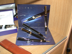 Waterman Exception pens.