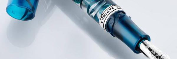 Visconti Homo Sapiens Crystal Swirl fountain pen.